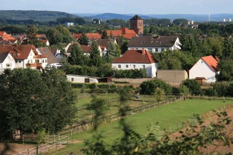 Großwelzheim, Blick von der Kipp