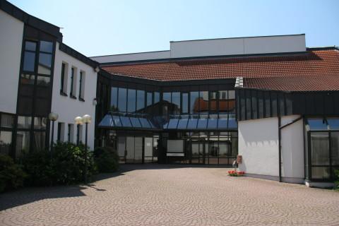 Rathaus Karlstein, Eingangsbereich