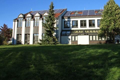 Rathaus Karlstein, Ansicht von Mainseite